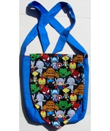 Marvel Baby Hero Design Custom Adjustable Strap Messenger Bag Brand New - $29.95