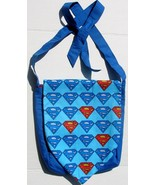 DC Superman Logo Design Custom Adjustable Strap Messenger Bag Brand New - $29.95