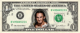 ADRIAN NEVILLE Wrestler on REAL Dollar Bill Collectible Celebrity Cash M... - $5.55