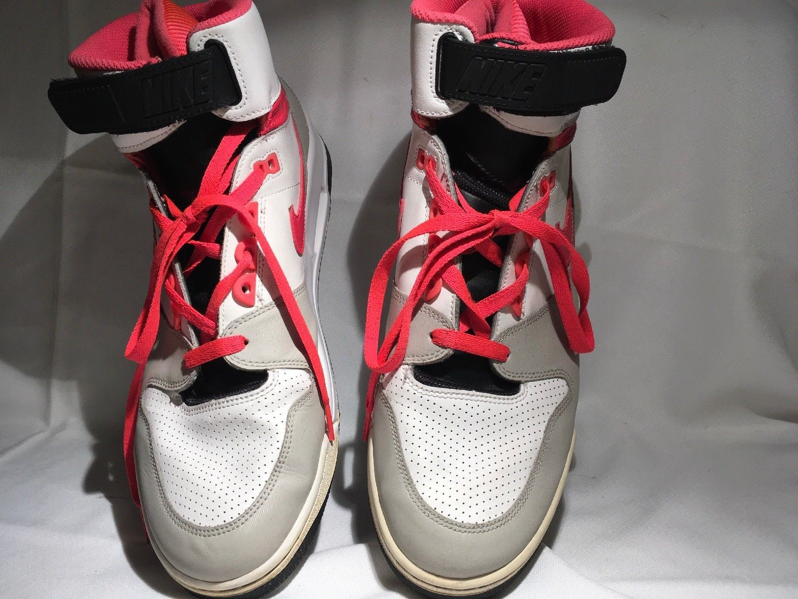 buy popular bd05f 30560 Nike Air Revolution High-top Hot Lava Red Basketball Shoes 303905-181 Sz  11.5