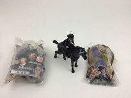 Wild Wild West Burger King 1999 Toy Figures Lot Will Smith James West Ri... - $11.83