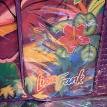 EUC RARE VINTAGE Lisa Frank 3 Ring Trapper Keeper Binder Rainbow Tiger Trio 90s image 4