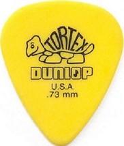 DUNLOP® TORTEX STANDARD GUITAR PICKS YELLOW .73... - $3.00