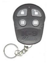 AfterMarket Omega K9 Logo ELV143S # 143-01 Black Remote Transmitter Fob ... - $39.99