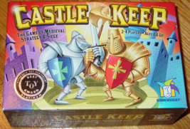 CASTLE KEEP MEDIEVAL STRATEGY  & SIEGE GAME 2006 GAMEWRIGHT COMPLETE EXC... - $15.00