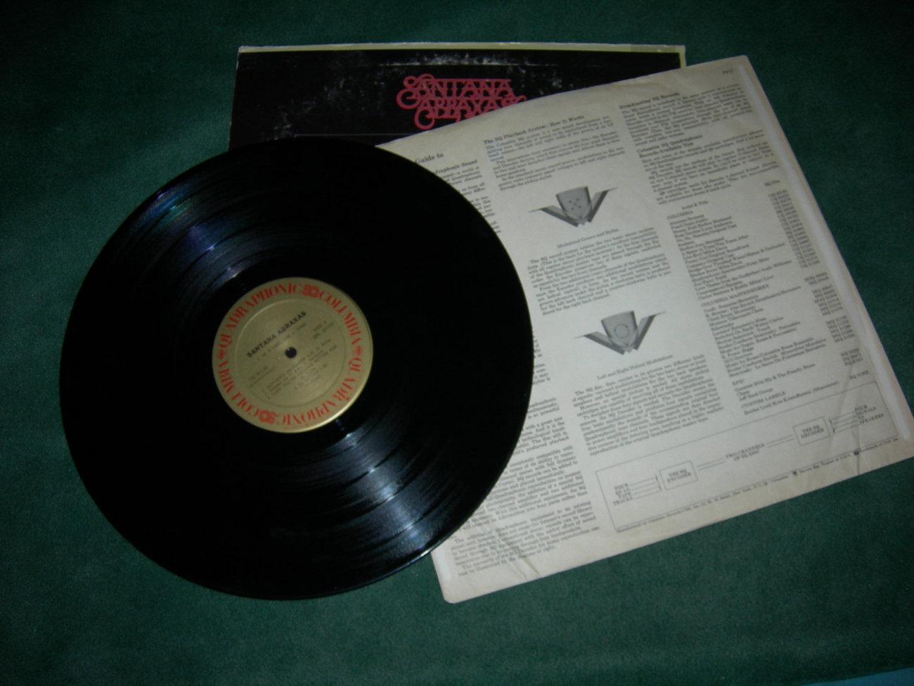 Santana Abraxas Quadraphonic - LP 1970