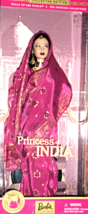 Barbie Doll - Dolls Of The World  Princess Of India - $59.95