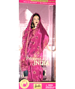 Barbie Doll - Dolls Of The World  Princess Of India - $68.50