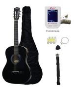 Crescent MG38 BK 38 Acoustic Guitar Starter Package Black Includes Cresc... - $49.99