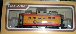 HO Scale Caboose Life-Like-Chessie System Caboose - $6.50
