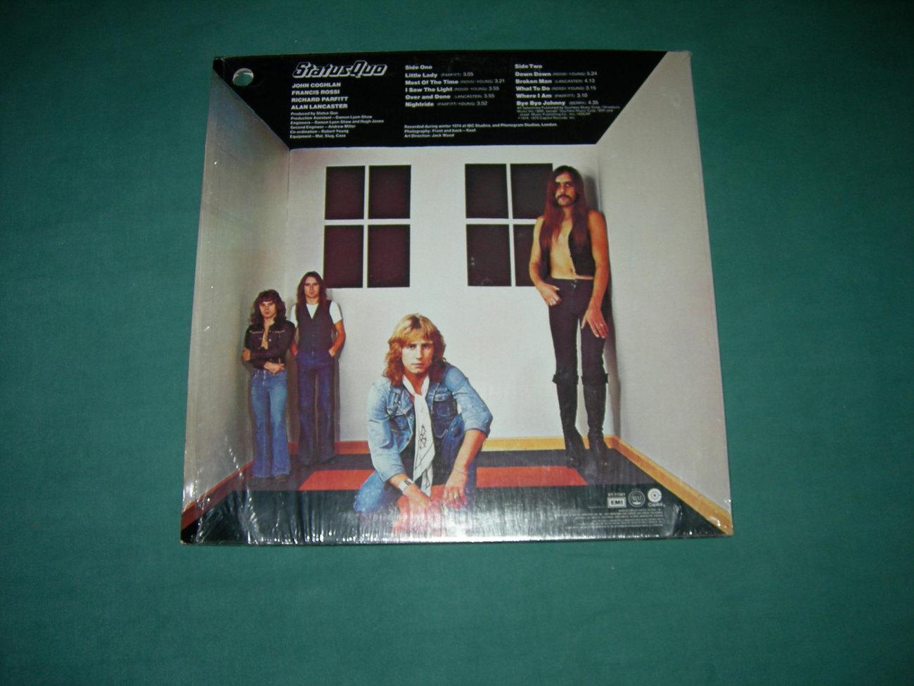 Status Quo - On The Level - LP 1974