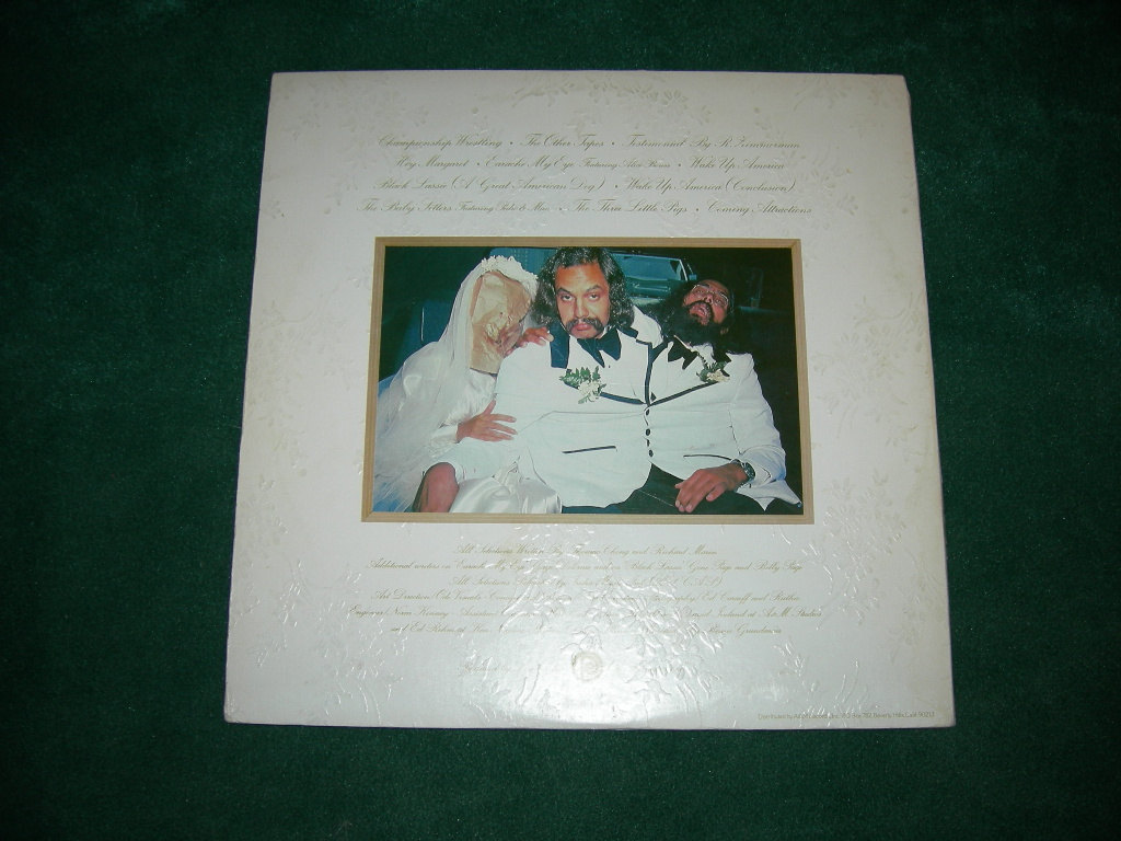 Cheech & Chong's Wedding Album LP - 1974