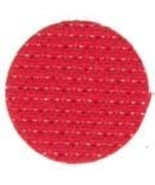 Christmas Red 11ct Aida 18x25 (1/4 yd) cross stitch fabric Wichelt - $10.35