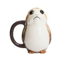 Star Wars il Ultimo Jedi Porg Premium Scolpito Ceramica Boccale - $46.12