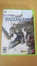 Warhammer 40,000 Space Marine Microsoft Xbox 360 2011 - $12.86