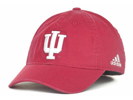 """Indiana Hoosiers NCAA Adidas """"Camp Slope"""" Flex Fitted Hat New - $15.79"""