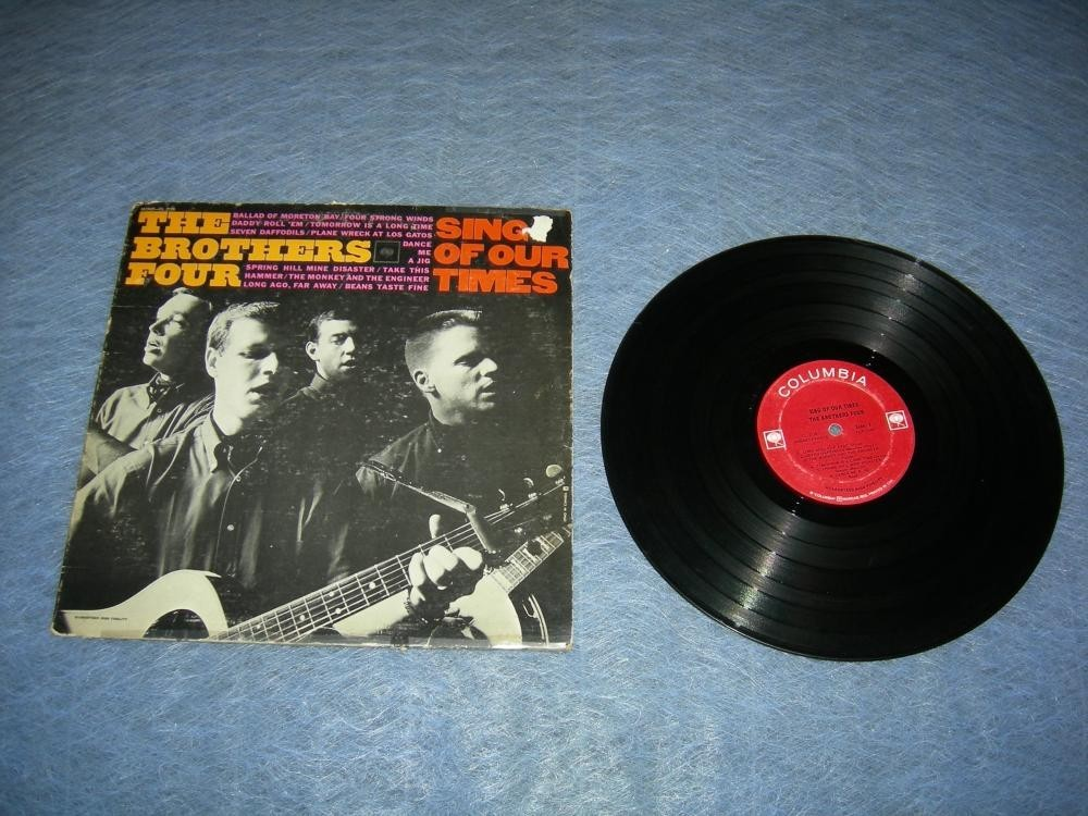The Brothers Four Sing Of Our Times LP - 1964