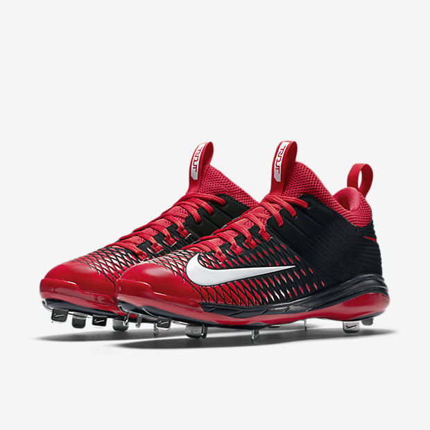 f6ada631201 57. 57. Previous. Nike Mike Trout Men s Pro 2 Mid Metal Baseball Cleats Red  16 New. Nike Mike Trout Men s ...