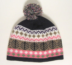 Unisex Winter Knit Hat Multiple Colors Pom Pom - $11.57