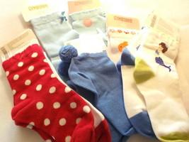 Gyboree GIRL SOCKS 8 Pairs Size 3 - 4 /  Shoe Size  9 - 10 - £23.01 GBP