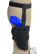 Barsony Gun Concealment Ankle Holster for Smith & Wesson 22 327 38 357 S... - $29.99
