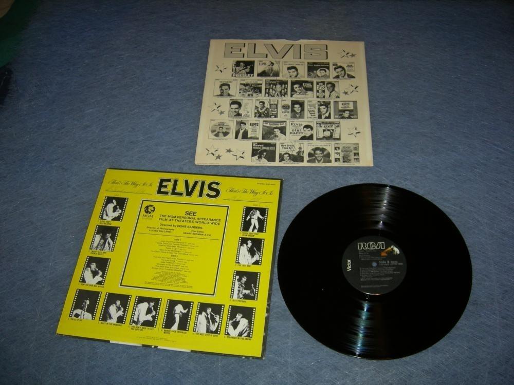 Elvis Thats The Way It Is LP 1970 - Elvis Presley