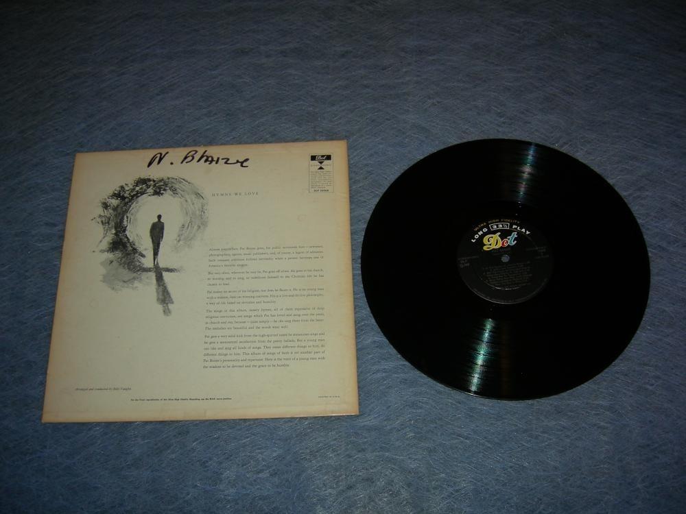 Pat Boone - Hymns We Love - 1957