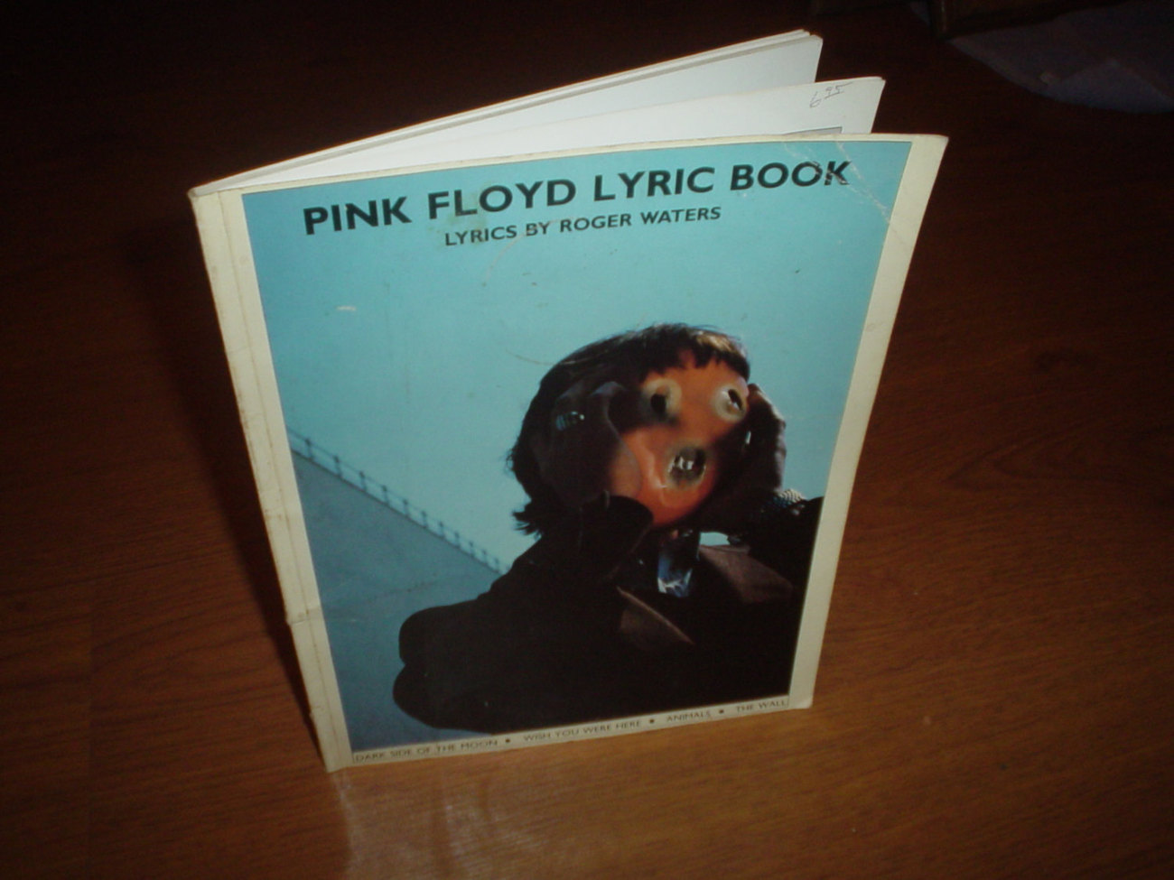 Pink Floyd - Lyric Book - Very Rare - 1982
