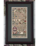 The Pastoral cross stitch chart Drawn Thread - $12.60