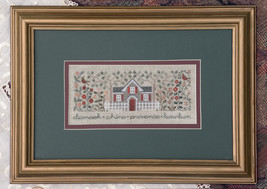 Ricardo's Roses cross stitch chart Drawn Thread - $9.00
