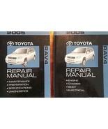 2005 Toyota RAV4 RAV 4 Service Shop Repair Manual Set OEM 2005 BRAND NEW - $336.55