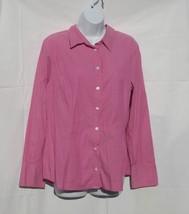 APOSTROPHE Women's Long Sleeve Button down Shir... - $3.99