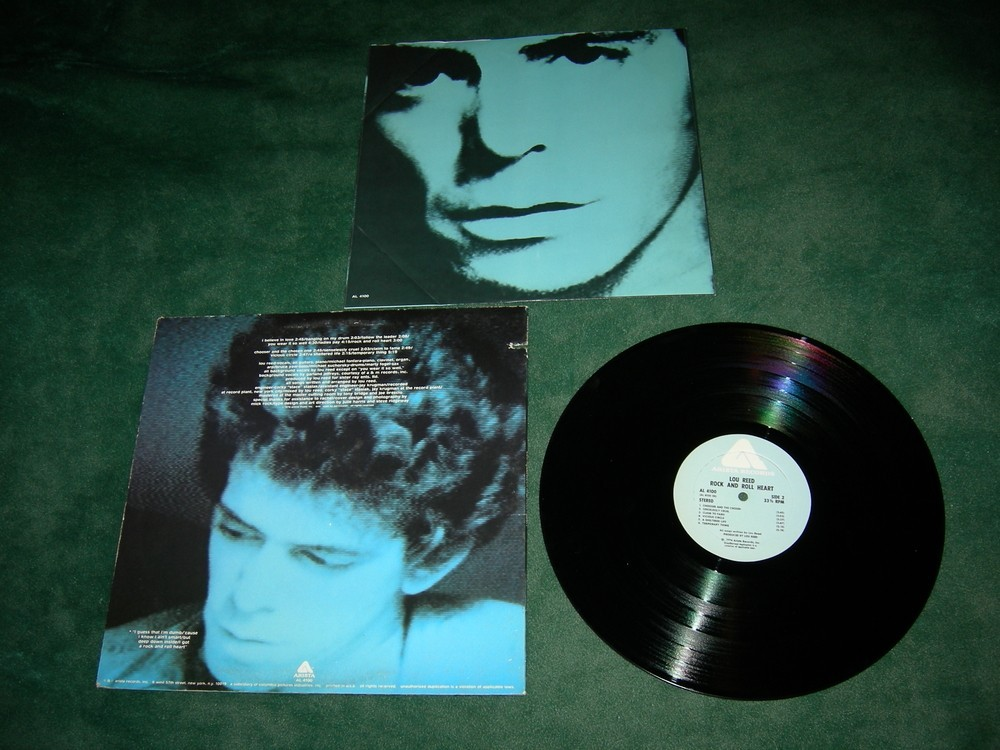 Lou Reed - Rock and Roll Heart - 1976