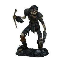 8.5 Inch Resin Painted Skeleton Zombie Walking Dead Figurine Statue - £33.75 GBP