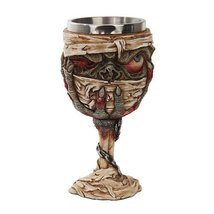 Pacific Giftware Horror Walking Undead Zombie Mummy Goblet Chalice Stain... - $19.79