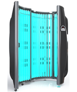 48 Lamp Solar Storm Commercial Tanning Booth No Plug Hardwired 48 Bulbs - $6,999.00