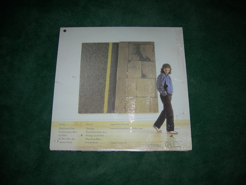 George Harrison -  Somewhere in England - 1981 - Factory Sealed