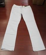Womens Sasson Big Stitch Bootcut Jeans Size 4 Color White Denim - $5.95