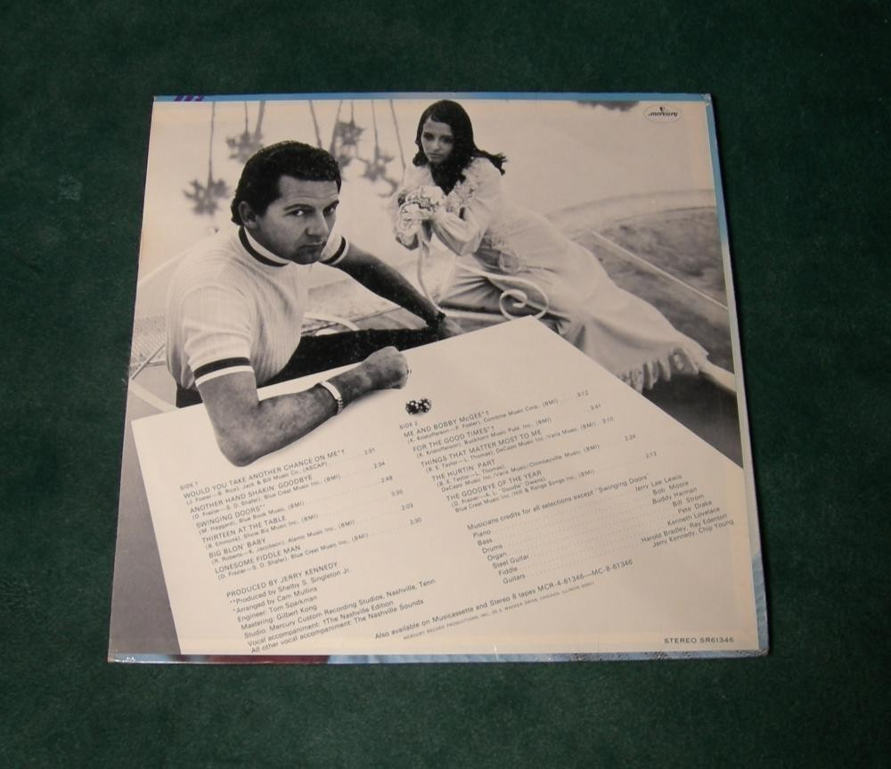 Jerry Lee Lewis - Would You Take Another Chance On Me - 1971 - Factory Sealed