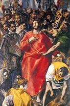 Undressing Christ by El Greco - Art Print - $19.99+