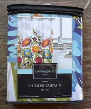 Cynthia Rowley Colorful Floral Shower Curtain - $33.95