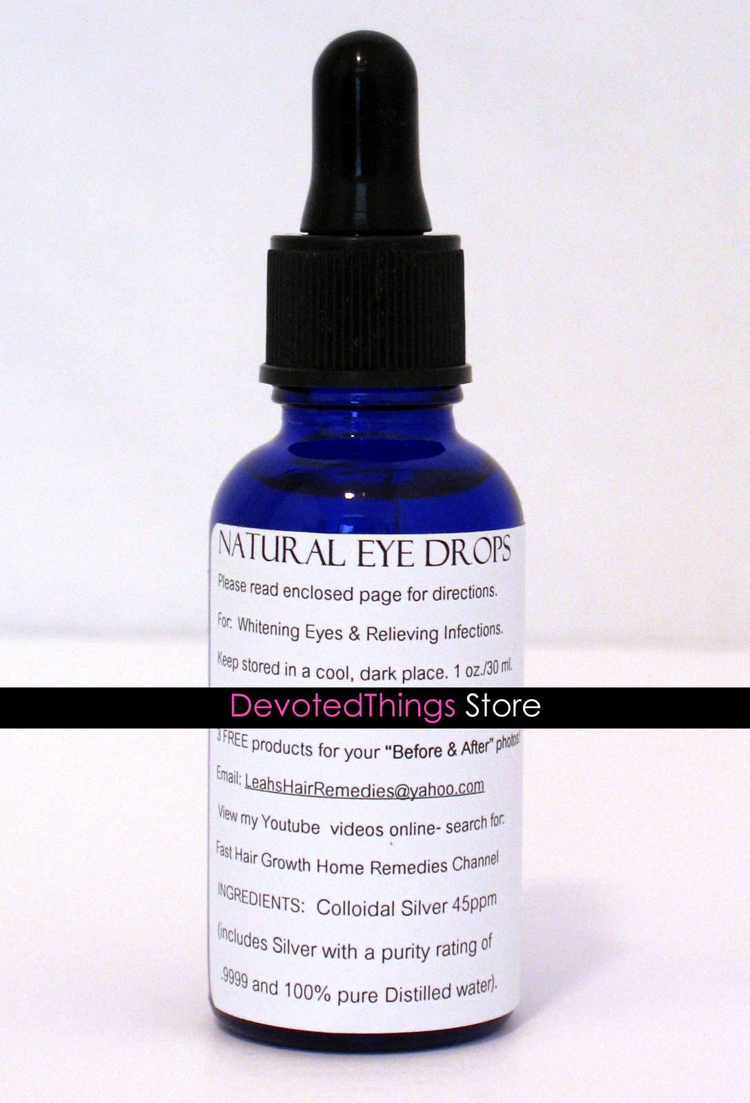 Natural Eye Drops For Healthy Eyes