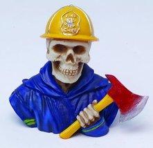 fireman Skull Bust Figurine - ₨314.82 INR