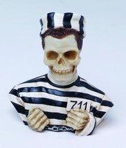 Prisoner Skull Bust Figurine - $4.95