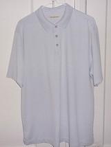 Tommy Bahama Mens Large Striped Short Sleeve Polo Shirt - $17.96