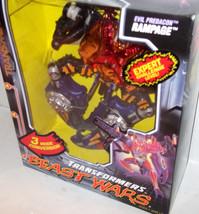 Beast Wars Transmetals  RAMPAGE *Case Fresh Mostly SHARP SEALED - discou... - $144.99