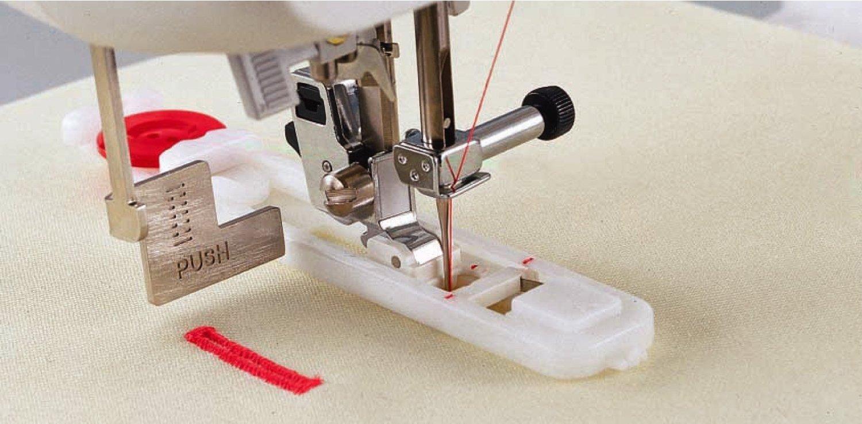 Как сделать петлю для пуговицы на машинке бразер