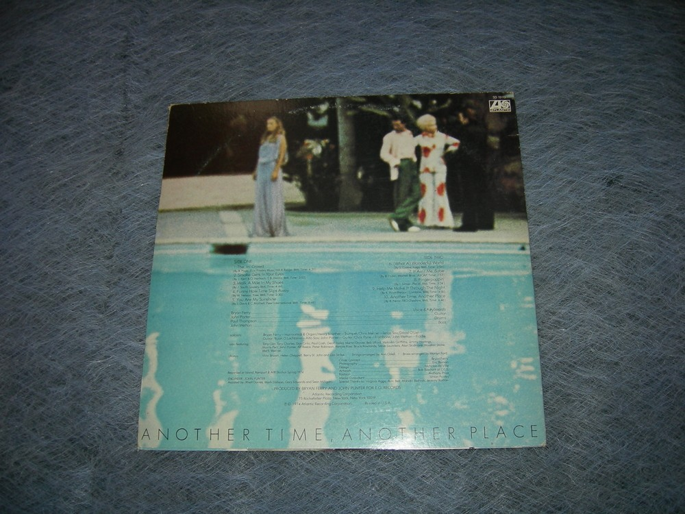 Brian Ferry - Another Time Another Place - Promotional Copy