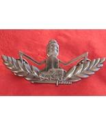 Israel green border police MAGAV WARRIOR BADGE IDF pin Sufa jeep - £7.76 GBP