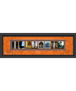 Personalized University of Illinois Campus Letter Art Print - $43.99